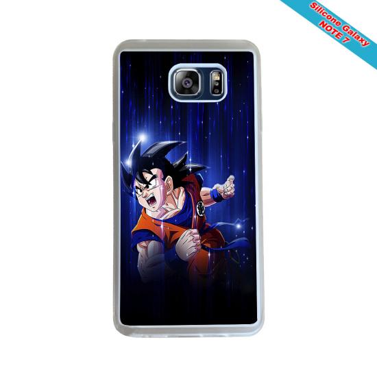 Coque silicone Galaxy A70 Fan de Rugby Agen Destruction