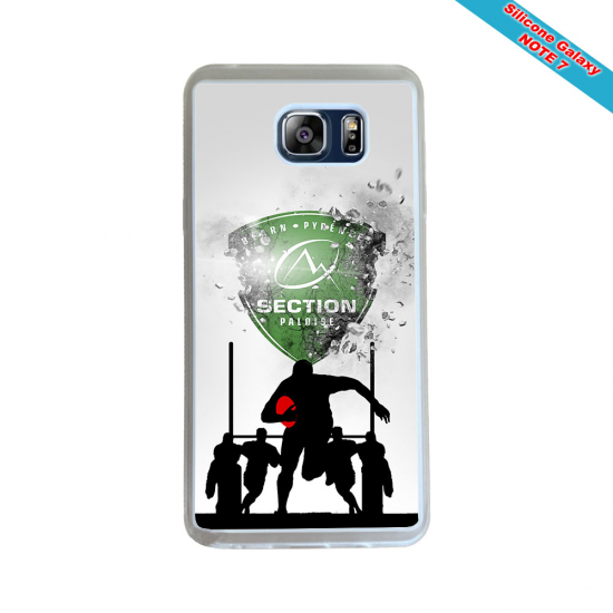 Coque silicone Huawei P40 Lite Fan de Rugby Agen Destruction