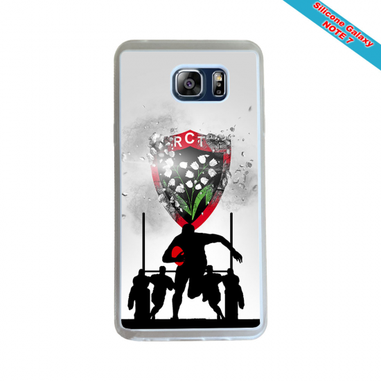 Coque silicone Iphone 6 PLUS Fan de Rugby Bayonne Destruction