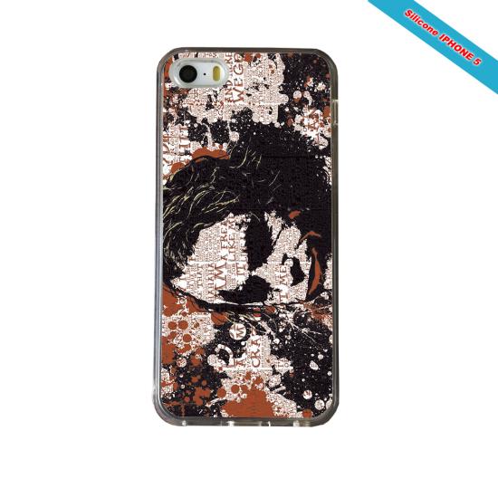 Coque Silicone iphone 7/8 Fan de Rugby Bayonne Destruction