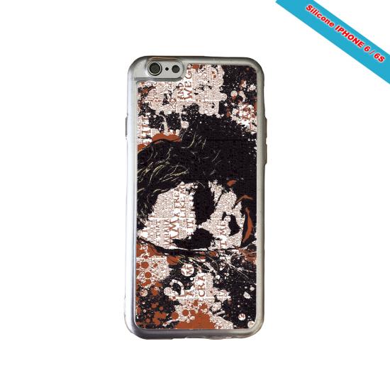 Coque Silicone iphone 7/8 PLUS Fan de Rugby Bayonne Destruction