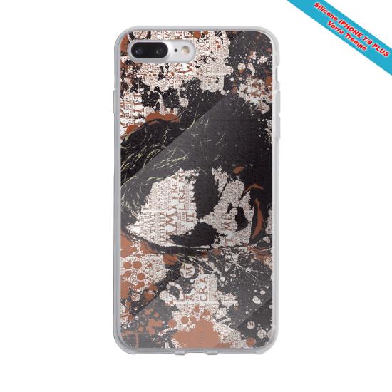 Coque silicone Iphone XS MAX Verre Trempé Fan de Rugby Bayonne Destruction