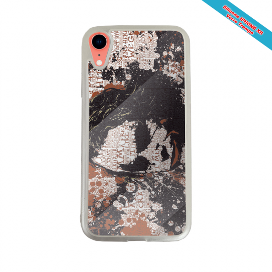 Coque silicone Iphone 11 Pro verre trempé Fan de Rugby Bayonne Destruction