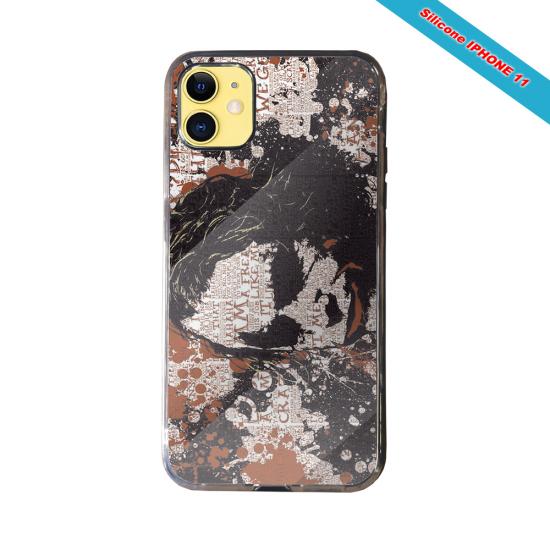 Coque silicone Iphone 12 Mini Fan de Rugby Bayonne Destruction