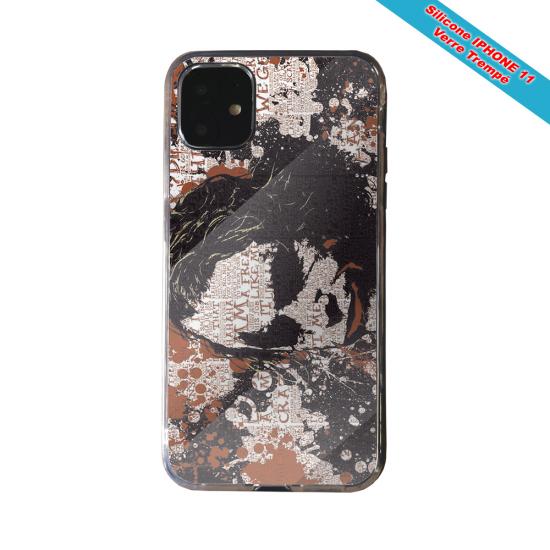 Coque silicone Iphone 12 PRO Fan de Rugby Bayonne Destruction