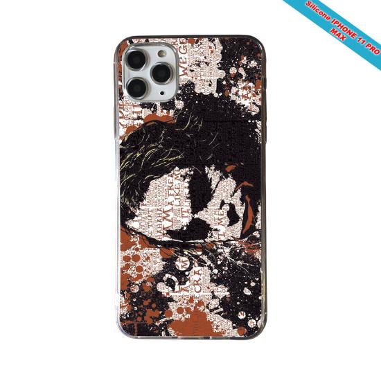 Coque silicone Iphone 12 PRO MAX Fan de Rugby Bayonne Destruction