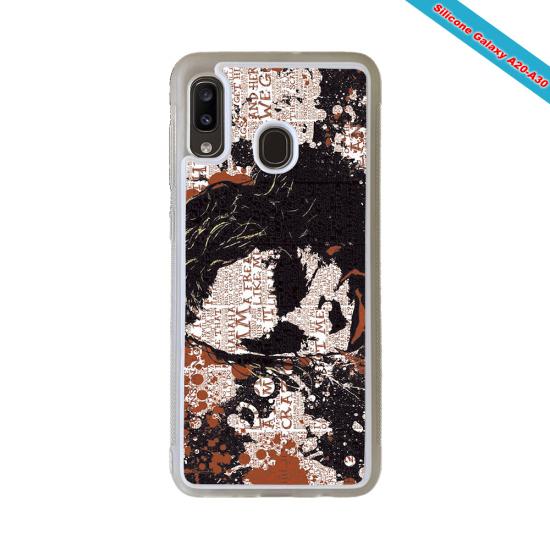 Coque silicone Galaxy A40 Fan de Rugby Bayonne Destruction