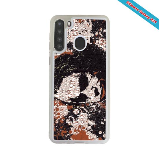 Coque silicone Galaxy A50 Fan de Rugby Bayonne Destruction