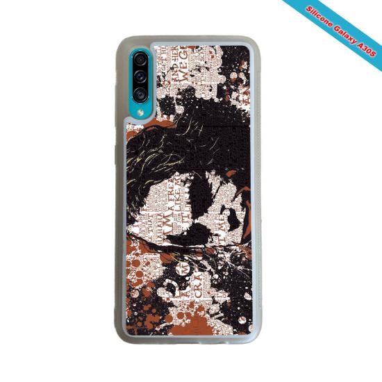 Coque silicone Galaxy A70 Fan de Rugby Bayonne Destruction