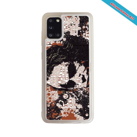 Coque silicone Galaxy A71 Fan de Rugby Bayonne Destruction