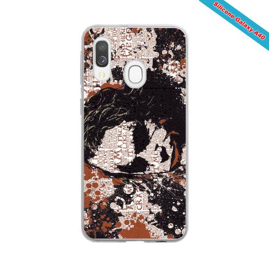 Coque silicone Galaxy J3 2016 Fan de Rugby Bayonne Destruction