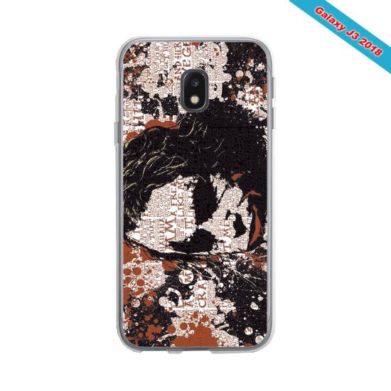 Coque silicone Galaxy J6 PLUS Fan de Rugby Bayonne Destruction