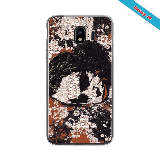 Coque silicone Galaxy J7 2016 Fan de Rugby Bayonne Destruction