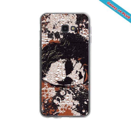 Coque silicone Galaxy J7 2018 Fan de Rugby Bayonne Destruction