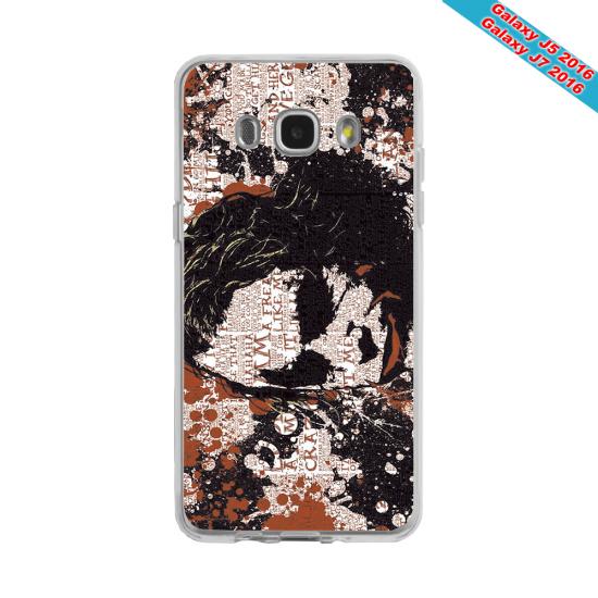 Coque silicone Galaxy J8 Fan de Rugby Bayonne Destruction