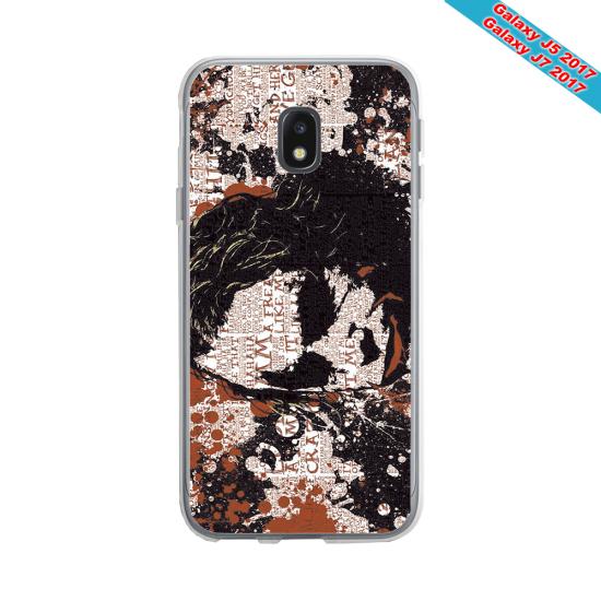 Coque silicone Galaxy M10 Fan de Rugby Bayonne Destruction