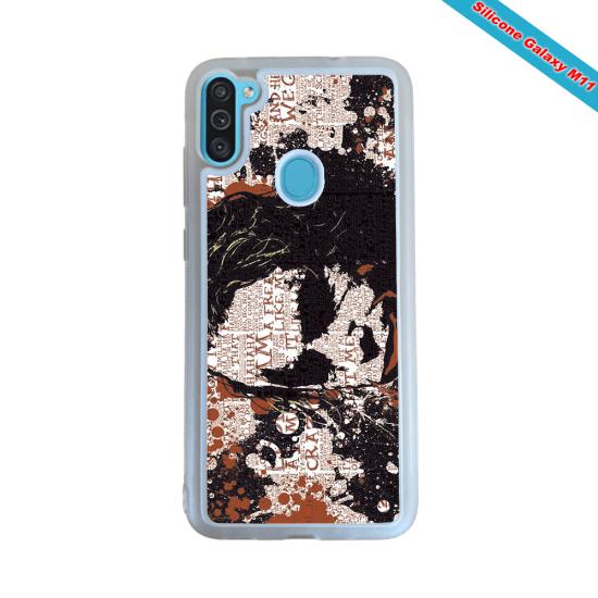 Coque Silicone Galaxy S8 Fan de Rugby Bayonne Destruction