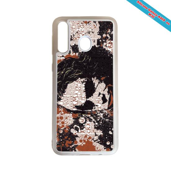 Coque Silicone Galaxy S9 Fan de Rugby Bayonne Destruction