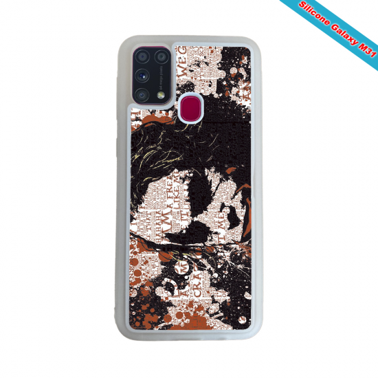 Coque Silicone Galaxy S9 verre trempé Fan de Rugby Bayonne Destruction