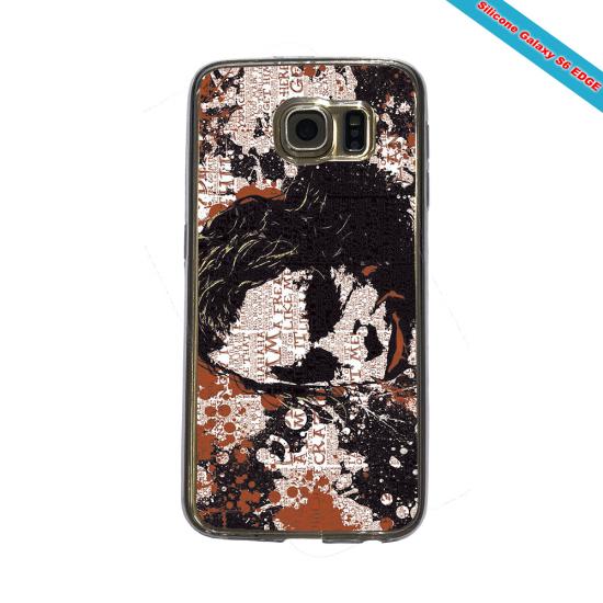 Coque Silicone Galaxy S9 PLUS verre trempé Fan de Rugby Bayonne Destruction