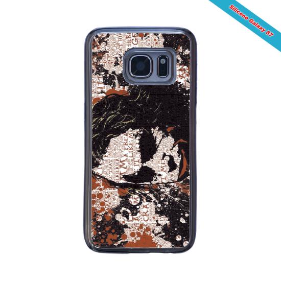 Coque Silicone Galaxy S10 Fan de Rugby Bayonne Destruction