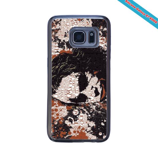 Coque Silicone Galaxy S10 verre trempé Fan de Rugby Bayonne Destruction