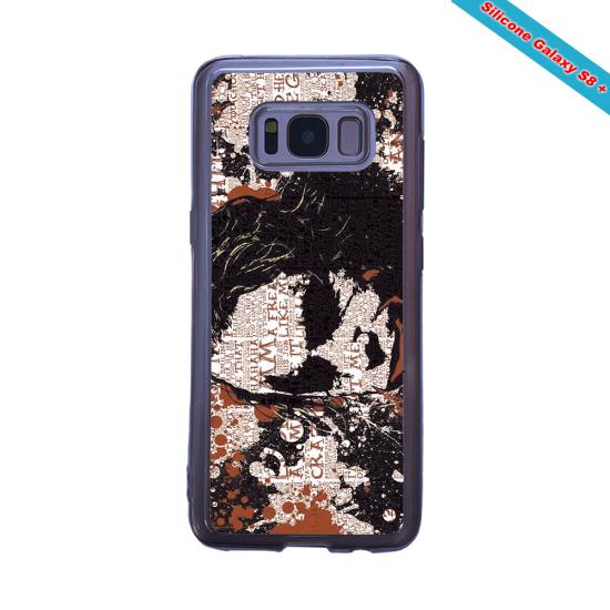 Coque Silicone Galaxy S10E verre trempé Fan de Rugby Bayonne Destruction