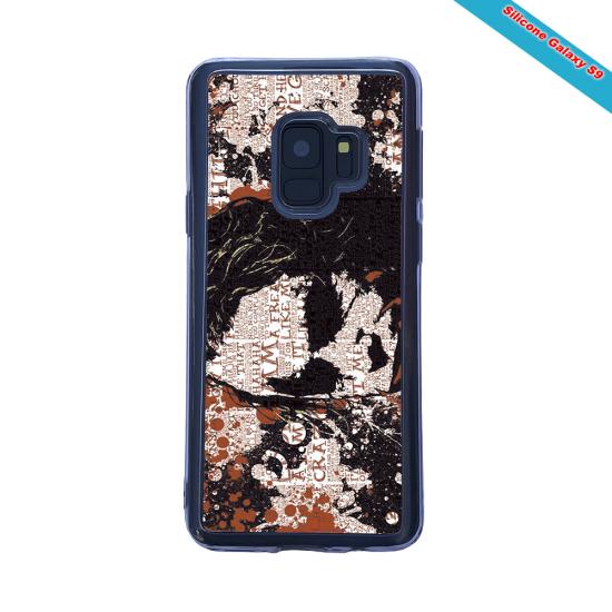 Coque Silicone Galaxy S10 PLUS Fan de Rugby Bayonne Destruction