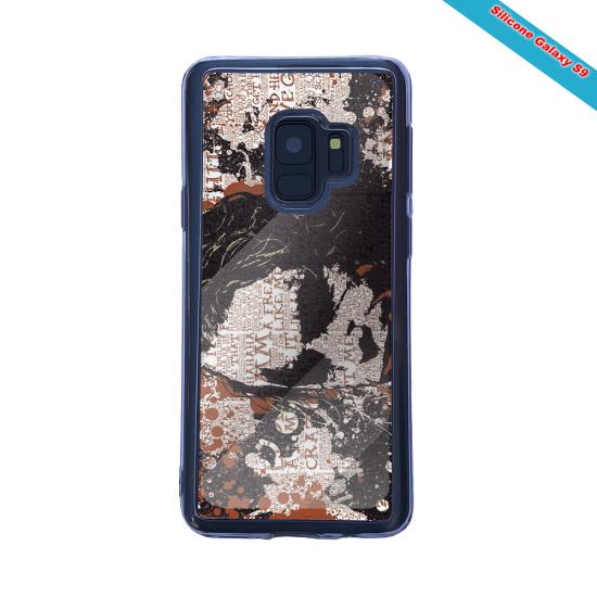 Coque Silicone Galaxy S20 Fan de Rugby Bayonne Destruction
