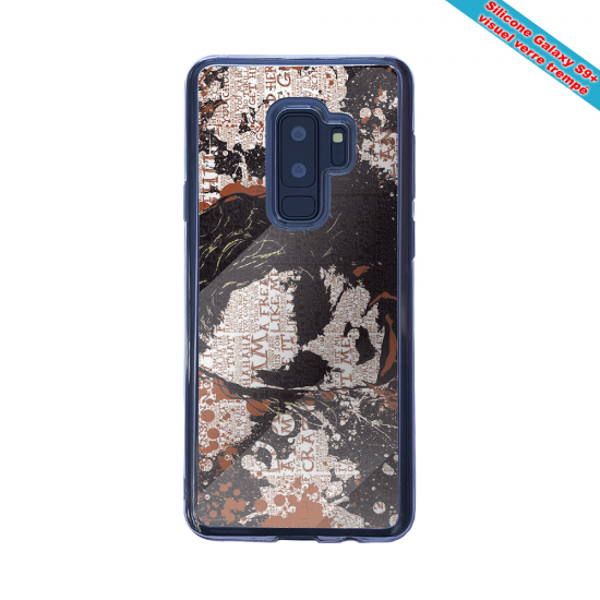 Coque Silicone Galaxy S20 verre trempé Fan de Rugby Bayonne Destruction