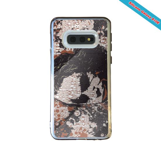 Coque silicone Galaxy S21 Fan de Rugby Bayonne Destruction