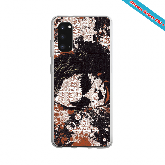 Coque Silicone Note 10 Fan de Rugby Bayonne Destruction