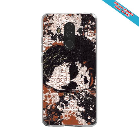 Coque silicone Huawei P8 lite 2017 Fan de Rugby Bayonne Destruction