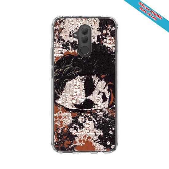 Coque silicone Huawei P9 Lite 2016 Fan de Rugby Bayonne Destruction