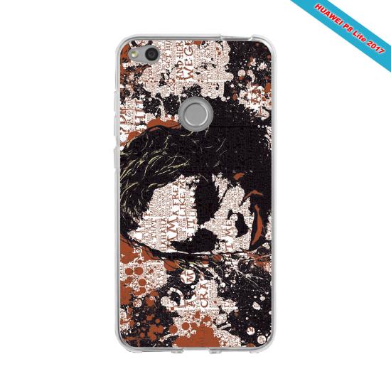 Coque silicone Huawei P20 LITE 2019 Fan de Rugby Bayonne Destruction