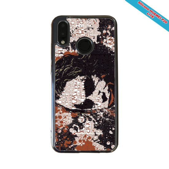 Coque silicone Huawei P40 Lite Fan de Rugby Bayonne Destruction