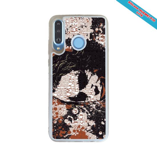 Coque Silicone iphone 7/8 Fan de Rugby Bordeaux Destruction