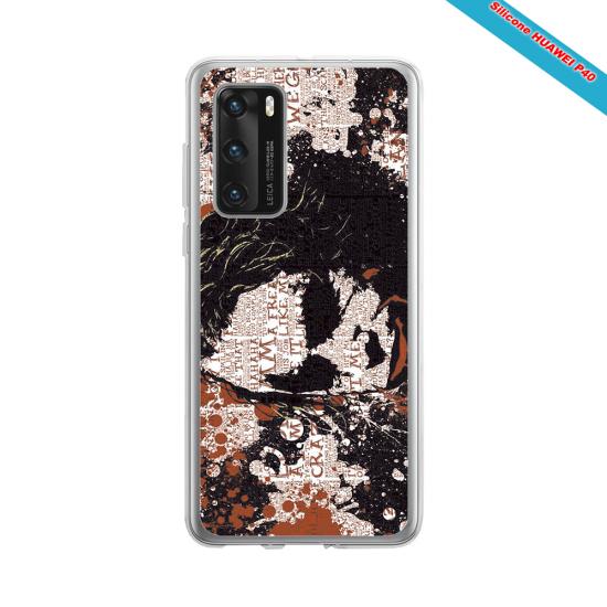 Coque Silicone iphone 7/8 PLUS Fan de Rugby Bordeaux Destruction