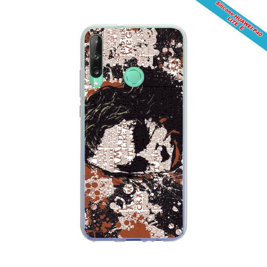 Coque silicone Iphone X/XS Fan de Rugby Bordeaux Destruction