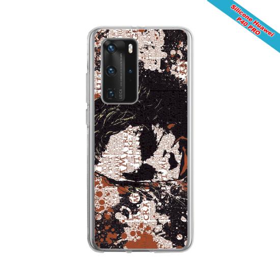 Coque silicone Iphone X/XS verre trempé Fan de Rugby Bordeaux Destruction