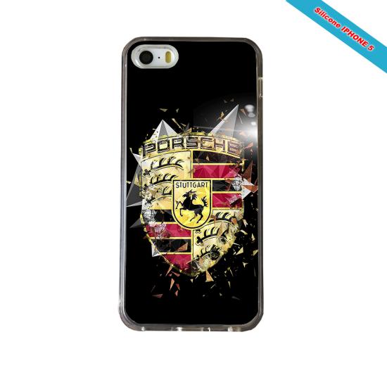 Coque silicone Iphone XR Fan de Rugby Bordeaux Destruction