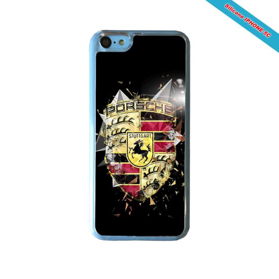 Coque silicone Iphone XR Verre Trempé Fan de Rugby Bordeaux Destruction