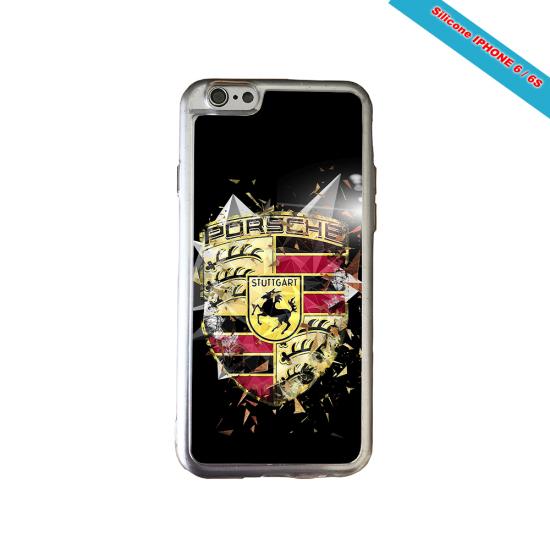 Coque silicone Iphone XS MAX Fan de Rugby Bordeaux Destruction