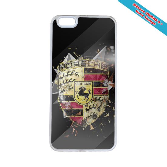 Coque silicone Iphone 11 verre trempé Fan de Rugby Bordeaux Destruction