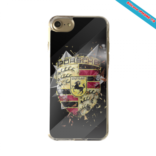 Coque silicone Iphone 11 Pro verre trempé Fan de Rugby Bordeaux Destruction