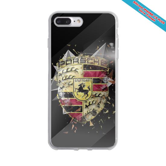 Coque silicone Iphone SE 2020 Fan de Rugby Bordeaux Destruction