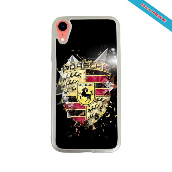 Coque silicone Iphone 12 Fan de Rugby Bordeaux Destruction