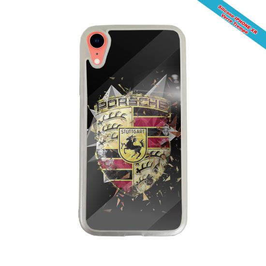 Coque silicone Iphone 12 PRO Fan de Rugby Bordeaux Destruction