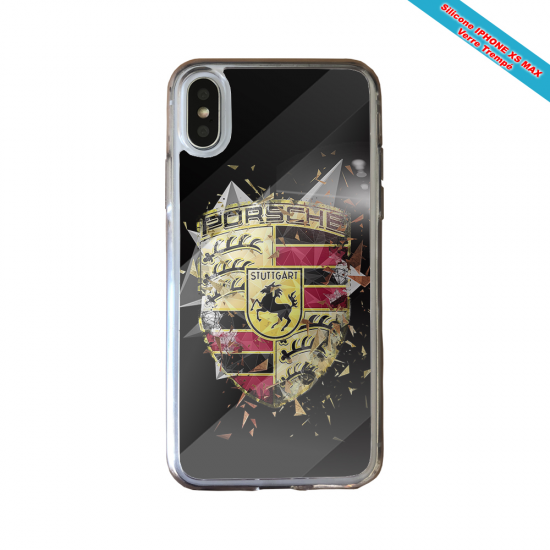 Coque silicone Galaxy A10 Fan de Rugby Bordeaux Destruction