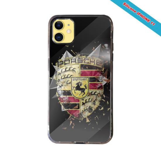 Coque silicone Galaxy A20-A30 Fan de Rugby Bordeaux Destruction